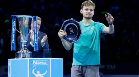 David Goffin at ATP Finals as runners-up
