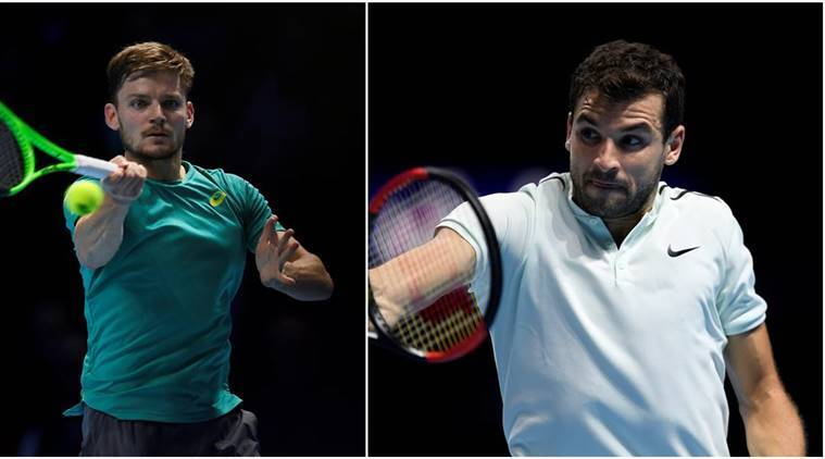 David Goffin will take on Grigor Dimitrov in the ATP Final