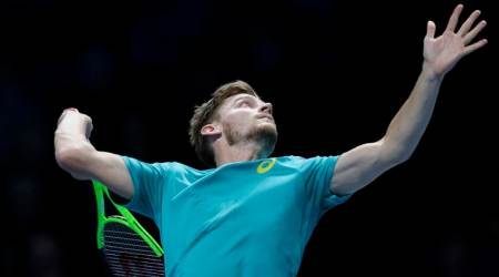 David Goffin ousts Roger Federer in ATP Finals semifinal comeback