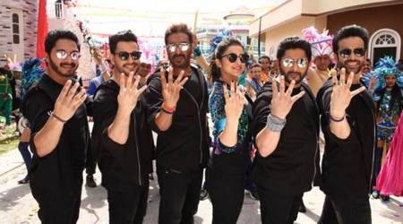 Ajay Devgn starrer Golmaal Again steamrolls competition at the Bollywood box office