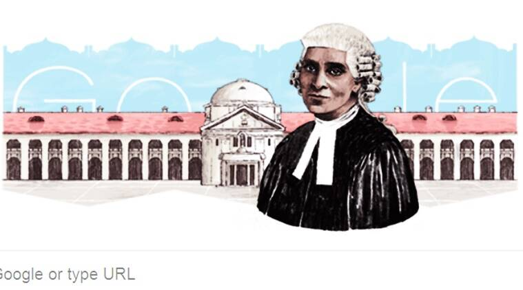 google doodle, google doodle today, cornelia sorabji, cornelia sorabji google doodle, cornelia sorabji birthday, cornelia sorabji google, qho is cornelia sorabji, india's first female lawyer cornelia sorabji, inidan express, indian express news