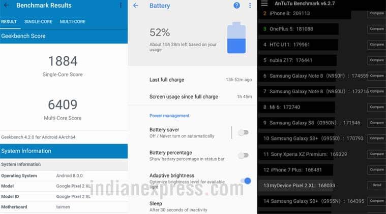 Google Pixel 2 XL performance