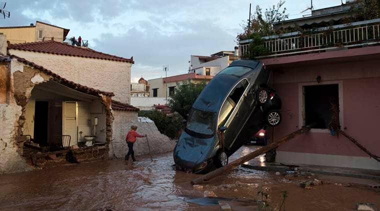 greece, greece floods, greece floods death toll, greece floods injured, greece rains,Alexis Tsipras, athens, world news, latest news, indian express