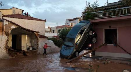 Greece floods: Atleast 15 dead, hundreds homeless after heavy rain lashes coast