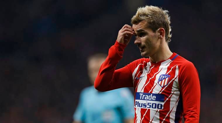 Antoine Griezmann has yet to score since end of September