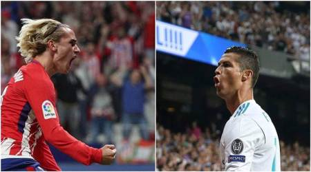 Atletico Madrid vs Real Madrid: Antoine Griezmann, Cristiano Ronaldo look to end goal drought