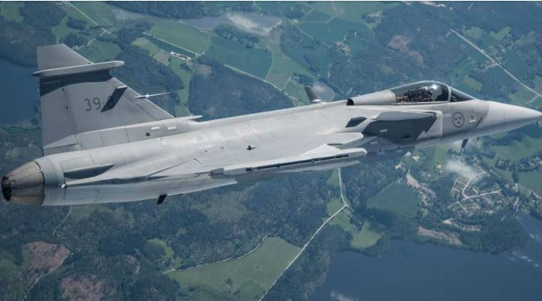 Saab eyes India aircraft deal