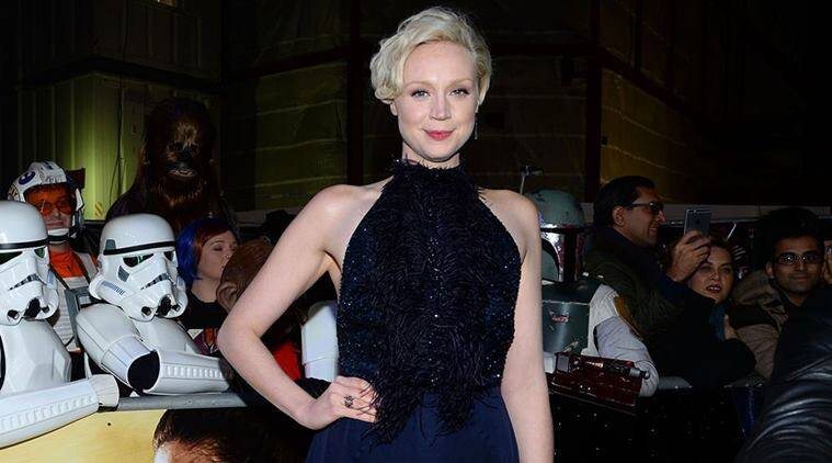 gwendoline christie is delighted to work in star wars