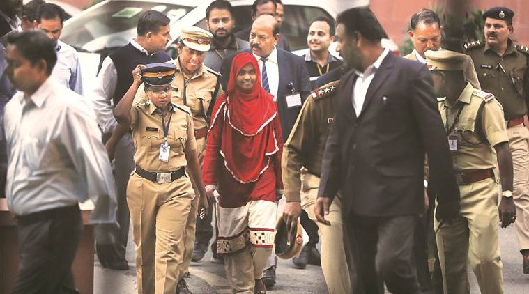 Akhila alias Hadiya, the Hindu woman who had embraced Islam