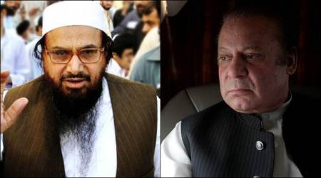 Hafiz Saeed, Nawaz Sharif, Pakistan, JuD chief freed, Kashmir, Hafiz saeed nawaz sharif, Pakistan PM, India-Pakistan,