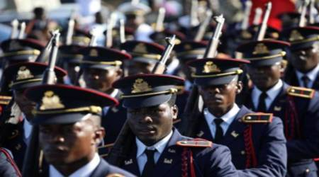 Haitian army set to make controversial return after twodecades