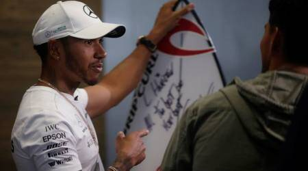 Four-star Lewis Hamilton on record pace in Brazil