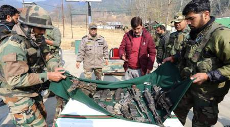 Soldier, three LeT militants killed in two separate gunfights in Kashmir