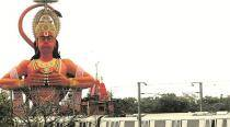 Can Hanuman statue be airlifted to fix traffic, asks Delhi High Court