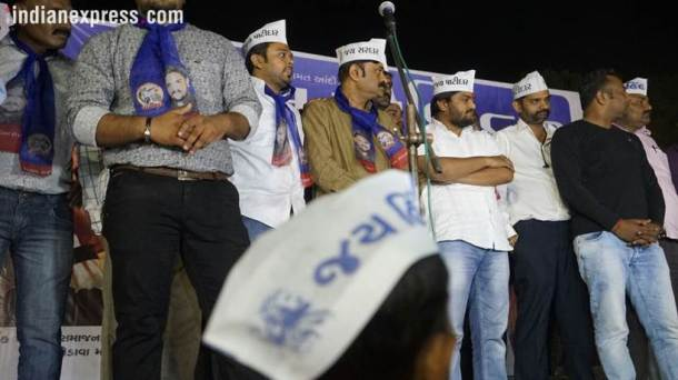 Hardik Patel, Hardik Patel rally, Hardik rally photos, Patidar rally, Patidar leader, Narendra Modi, Rahul Gandhi, Gujarat elections, Gujarat Assembly elections, Gujarat polls, Gujarat news, india news, indian express news