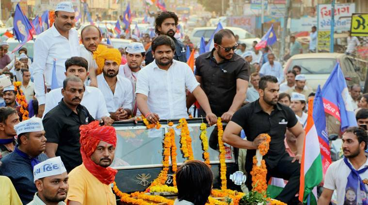 Hardik Patel, Gujarat Assembly Elections 2017, Hardik Patel attacks BJP, Patidar community influence on upcoming elections, Patidar community, Hardik Patel on reservations, Hardik Patel election campaign, gujarat news, indian express news