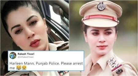 The real story behind the viral photo of 'Punjab Police officer Harleen Mann'