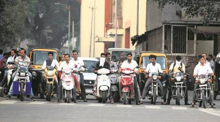Pune: Activists say 'fix roads, implement helmet rulesstrictly'