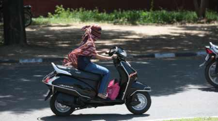 UT Admn all set to make helmet mandatory for women riding two-wheelers