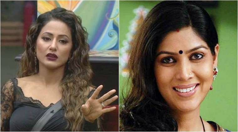 hina khan comments on Gauhar and sakshi tanwar
