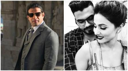 Bigg Boss 11 contestant Hina Khan's boyfriend Rocky Jaiswal gets into a Twitter war with Karan Patel