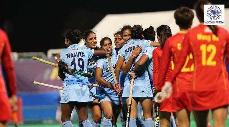 Hockey India, India vs China, Rani Rampal, India hockey women's team, Asia Cup 2017, Asia Cup hockey, Hockey news, Indian Express
