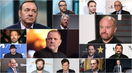 Hollywood bigwigs who have been accused of sexual harassment so far