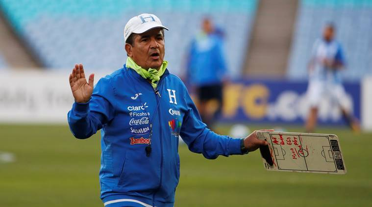 Honduras coach Jorge Luis Pinto accuses Australia of drone 'espionage' ahead of World Cup playoff