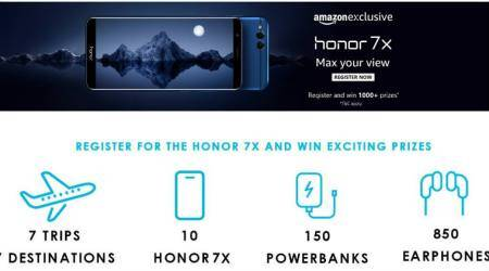 Honor 7X registration opens on Amazon India: Here are the offers