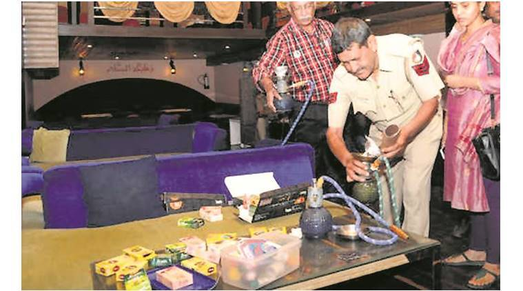 Four hookah bars sealed in city within one year