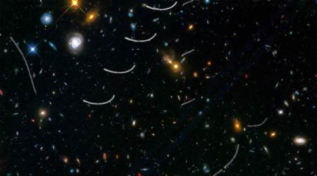 Hubble telescope's deep space pictures disturbed by asteroids in Solar system