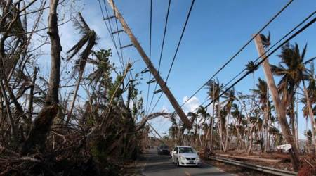 Puerto Rico population to drop 14% after Hurricane Mariawreckage