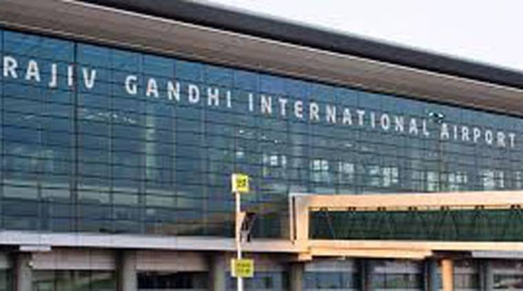 Video of 2 men misbehaving with woman at Rajiv Gandhi International Airport viral