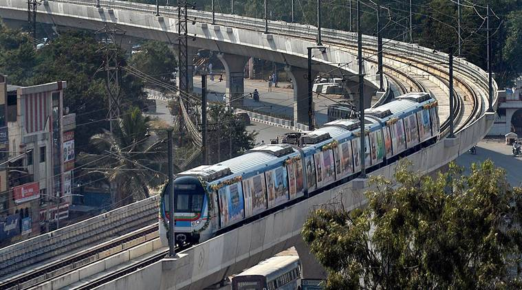 Over 2 lakh passengers travel by Hyderabad metro on day 1