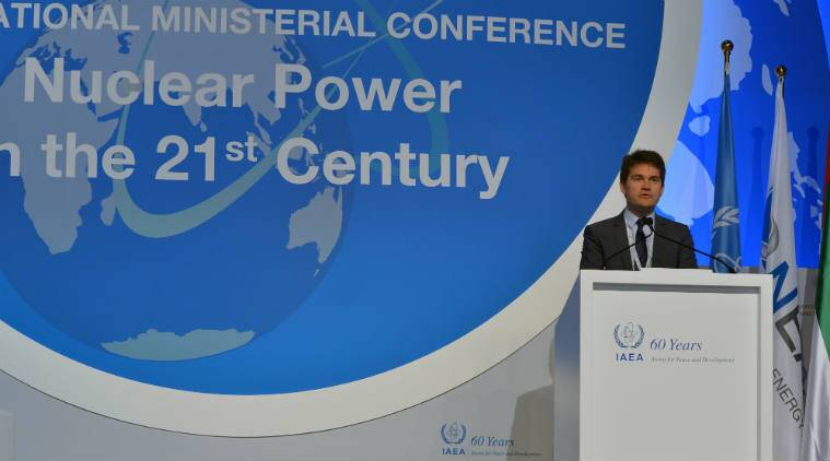 Russia nuclear power chief, International Atomic Energy Association, India's nuclear programme, nuclear fuel cycle, nuclear fuel closure technology, Rosatom, Kundakulam Nuclear Power Plant Project, uranium-plutonium fuel, pressurised heavy water reactors, fast breeder reactors, advanced heavy water reactors, uranium-233, plutonium-239, nuclear power reactors