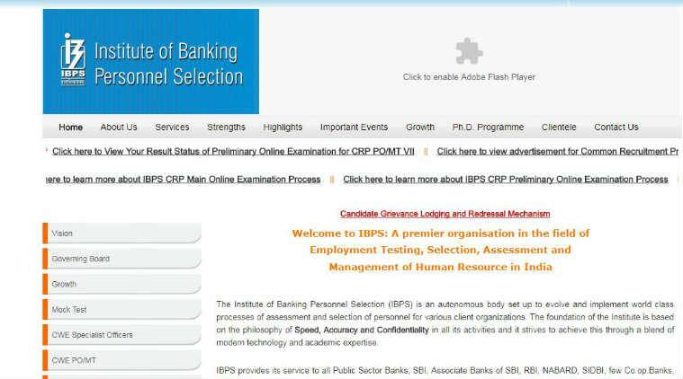 IBPS PO Result 2017 for Prelims Exam Officially Declared