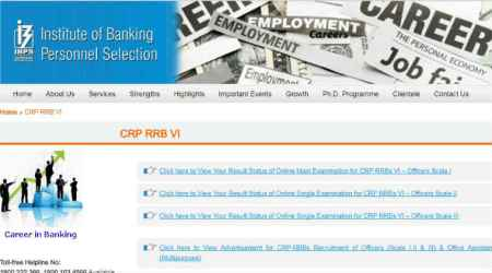 IBPS RRB officer scale I, II, III results 2017 declared, check online at ibps.in