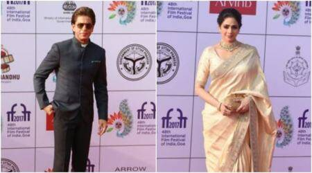 IFFI 2017 opening ceremony highlights: Shah Rukh Khan and Sridevi kick off the cinema carnival