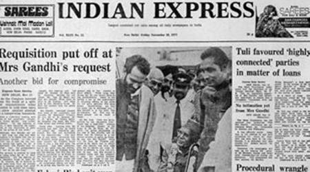 November 18, 1977, Forty Years Ago: Summons to Indira Gandhi