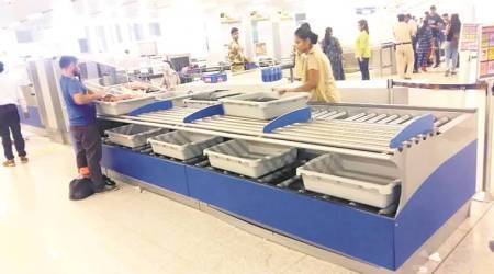 Delhi: A system to return trays that could make T3 security check smoother