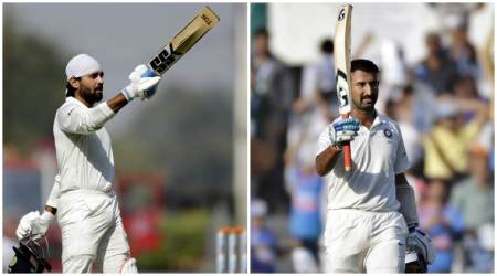 India vs Sri Lanka photos, Ind vs SL photos, Cheteshwar Pujara photos, Murali Vijay photos, Virat Kohli photos, Cricket photos