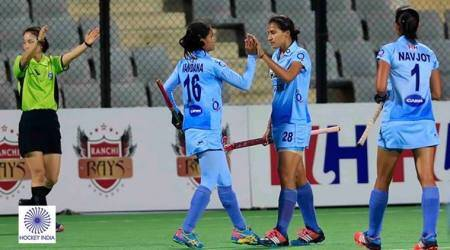 asia cup, women's asia cup, india asia cup, indian hockey women's team, sports news, indian express