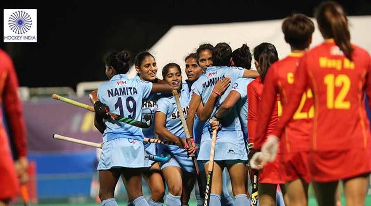 Indian women's hockey team, Indian women's hockey team ranking, FIH, Asia Cup, sports news, hockey, Indian Express