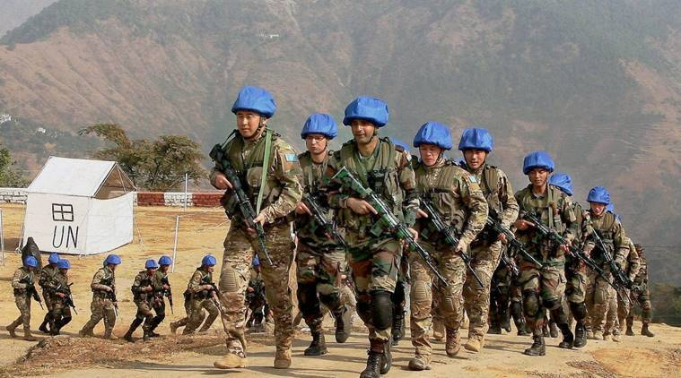 India, Kazakhstan, India - Kazakhstan mock drill, India - Kazakhstan military drill, India news, indian express news