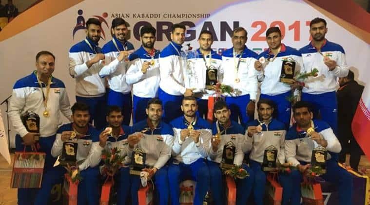 India won the Asian Kabaddi Championship