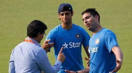 Sourav Ganguly gave Ashish Nehra the nickname 'Popat', reveals Yuvraj Singh in a very emotional message