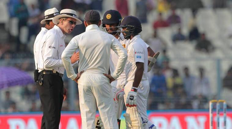 Niroshan Dickwella played calmly on fifth day against India