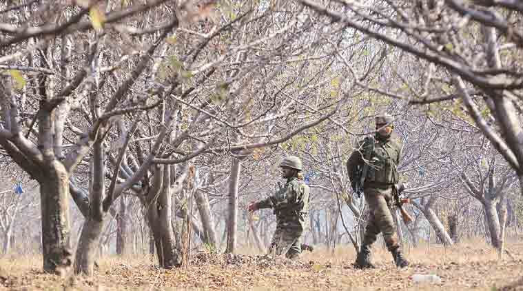 Militant killed in encounter with forces in Pulwama