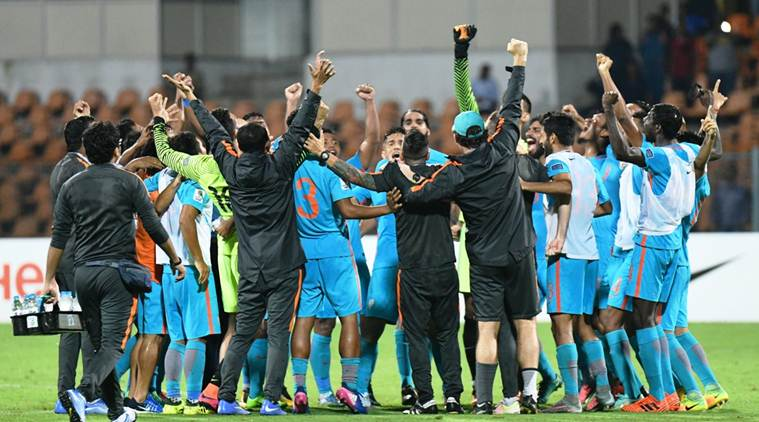 India rise to 102nd spot in FIFA rankings