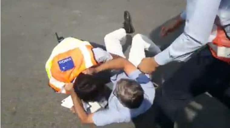 IndiGo airlines, IndiGo passenger manhandled, IndiGo suspends employee, IndiGo behaviour, Indira Gandhi Airport, Delhi airport, IndiGo apology, Ashok Gajapathi Raju, PV Sindhu